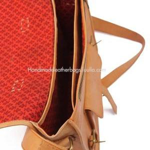 15 inch Handmade Leather messenger ..